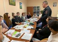 Торжественная встреча с участниками добровольной народной дружины