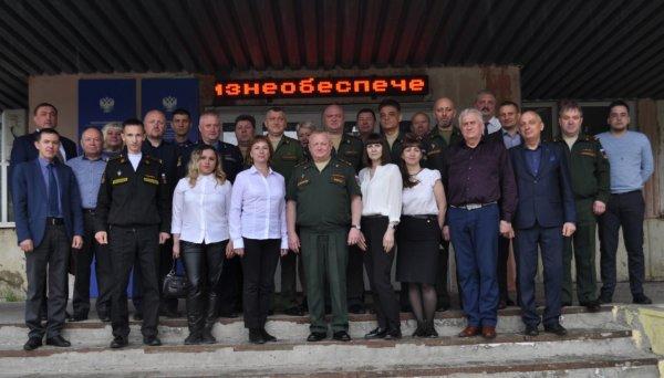 В Усинске прошли сборы военных комиссаров