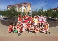 В Усинске организованы тренировочные сборы отделения «Баскетбол»