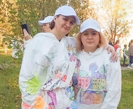 Елена Малеева и Ольга Семенихина