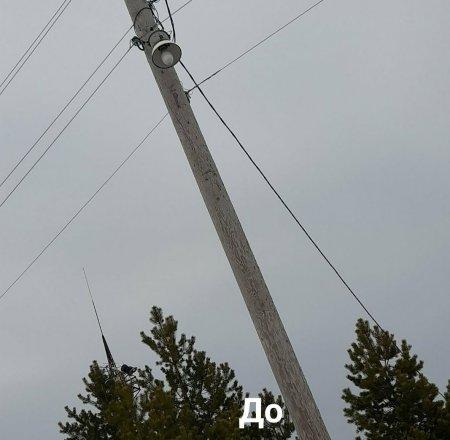 На территории администрации села Усть-Уса завершены работы по модернизации