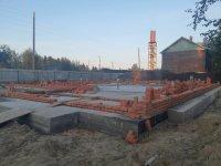 В усинском селе Усть-Уса ведется строительство общественной бани