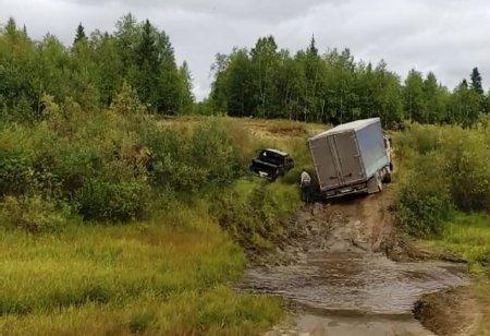"""""""Дорожные войны"""" возле села Усть-Лыжа"""