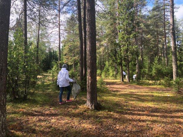 В Усинске продолжается проведение акции «Речная лента-2021»