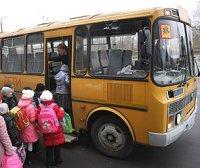 Проверка школьных автобусов Госавтоинспекцией г. Усинска