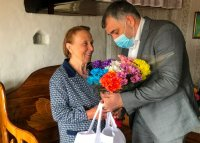Жительница деревни Сынянырд отметила 90-летие
