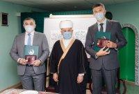Николай Такаев и Александр Голованев награждены медалями Совета муфтиев России «За духовное единение»
