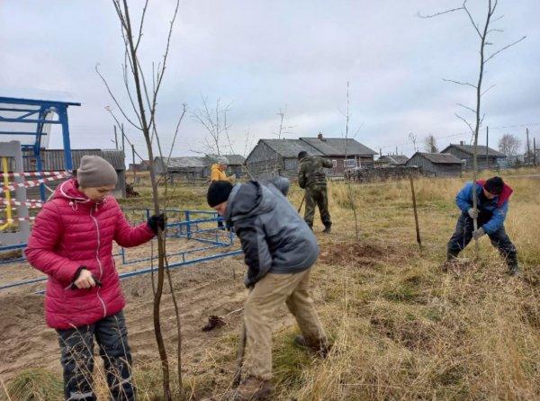 В Новикбоже установили новую спортивную площадку