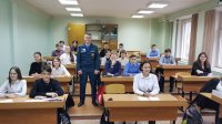 Открытые уроки гражданской обороны в усинских школах